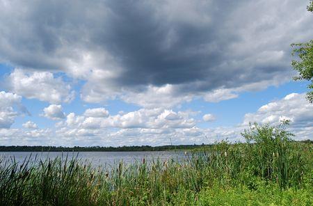 Sturm Wolken Standard-Bild - 3020186