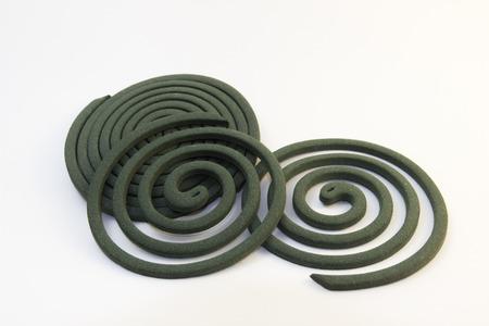 bobina: mosquito bobina espiral blanquear aún