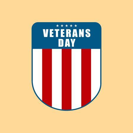 Badge Veterans Day