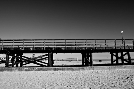 wooden bridge: Wooden bridge Stock Photo