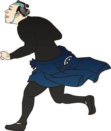 Running Samurai