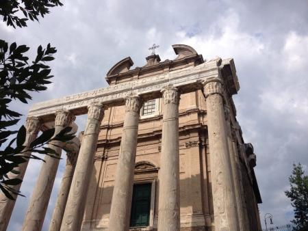 Rome Forum Zdjęcie Seryjne