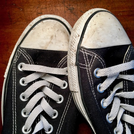 favorite worn out sneakers