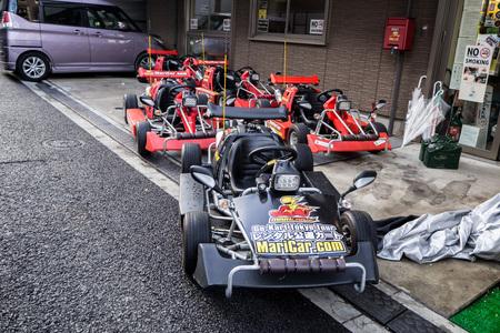 Roppongi, Tokyo Japan - 21st November 2017 : Mari Car - Street legal go karts