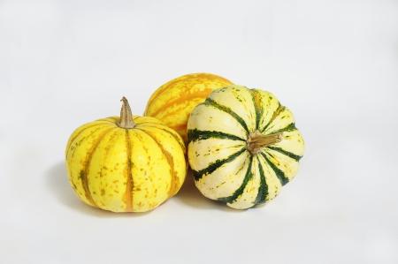 decorative pumpkins Stock Photo