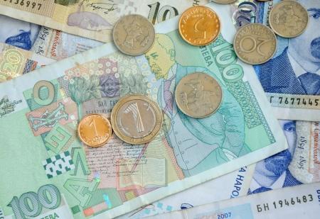 bulgarian bankonotes and coins