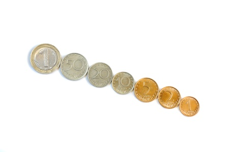 bulgarian coins  photo