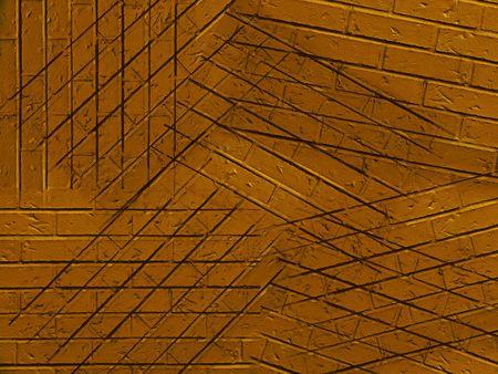Abstrakcyjne tło reneta z cegieł na dziwne kąty