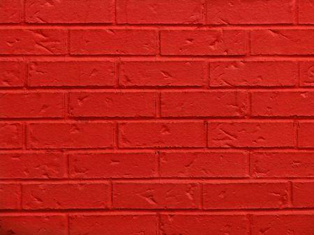 Closeup widok czerwonej cegły ściany