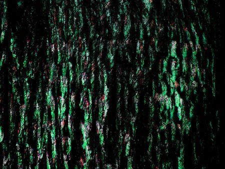 Abstract background z czarnej i zielonej kory kształt