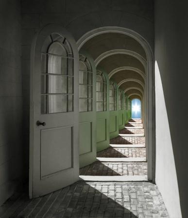 Łukowe Drzwi otwierają się w nieskończoność