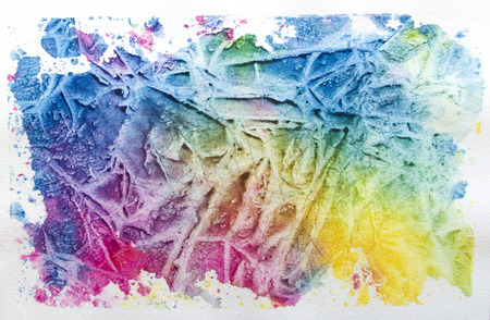 Multipcolored watercolor background with interesting texture