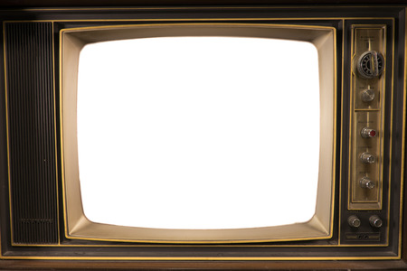 televisions: old Vintage Televisions Stock Photo