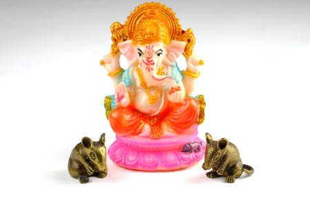 lord ganesha: Ganesha Lord of Success Stock Photo
