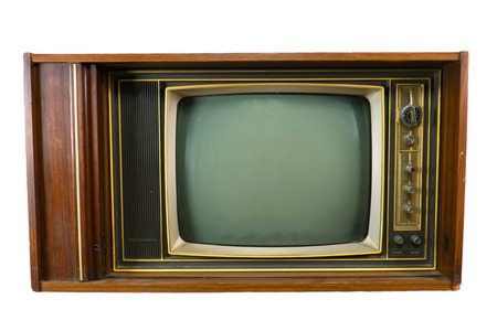 televisions: Vintage Televisions Stock Photo