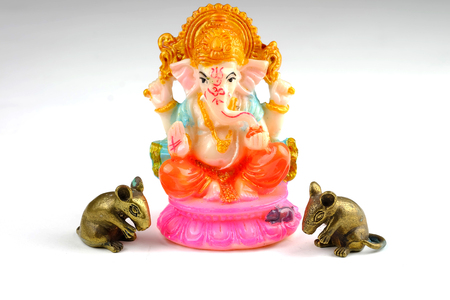 parvati: Ganesha Lord of Success Stock Photo