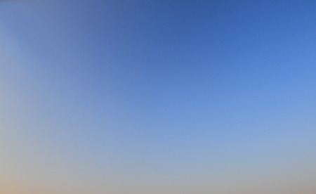 unblemished: Bright blue sky - empty canvas. Clear blue sky, no clouds.