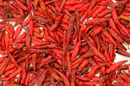 admixture: Dried peppers for cooking ,Thai food style .