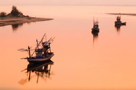 fischerei: K�stenfischerei Boot in Thailand