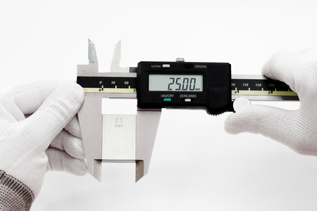 gage: Calibration digital VERNIER with gage block