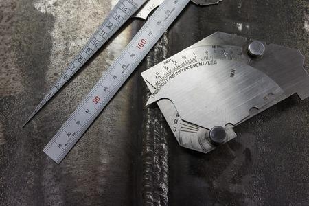 soldadura: Soldadura inspección Dimensión soldando galga