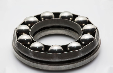 Bearing is componant of mechanic for rotation Standard-Bild