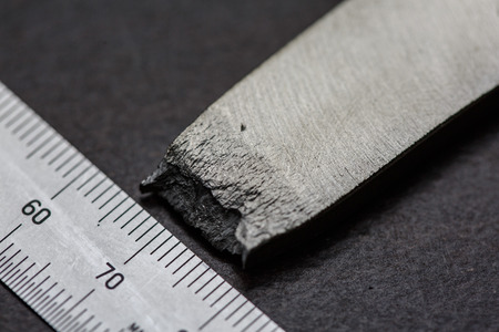 destructive: Fracture of tensile test coupon for evaluate strength of material
