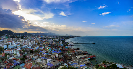 View point Hua Hin city and beach