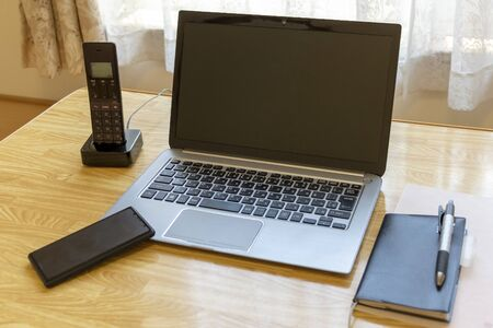 Business tools on the table