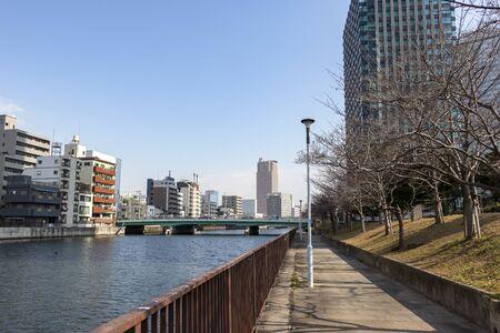 Promenade along the river