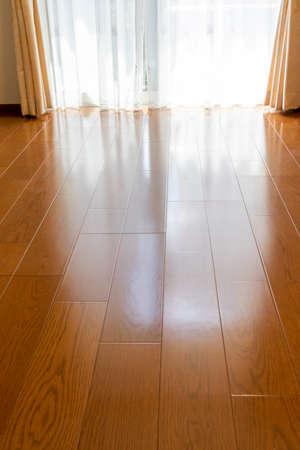 Wood flooring in the room Reklamní fotografie