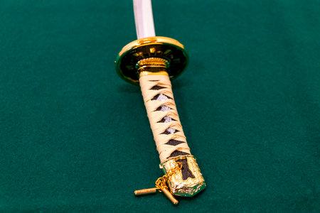 Japanese sword of samurai doll