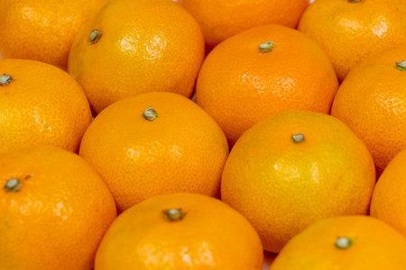 Lots of fresh mandarin oranges
