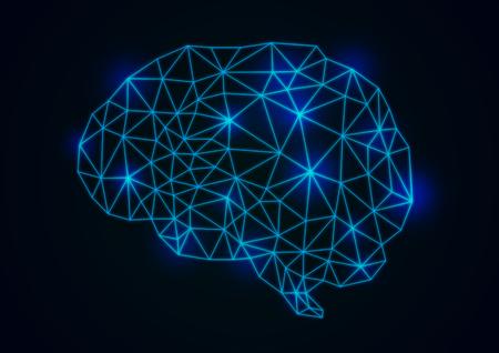 Gehirnbilder Standard-Bild