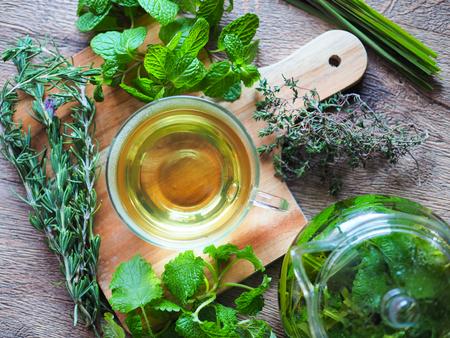 lemongrass tea: Herbal tea