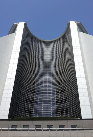 circle shape: Half Circle Shape Building