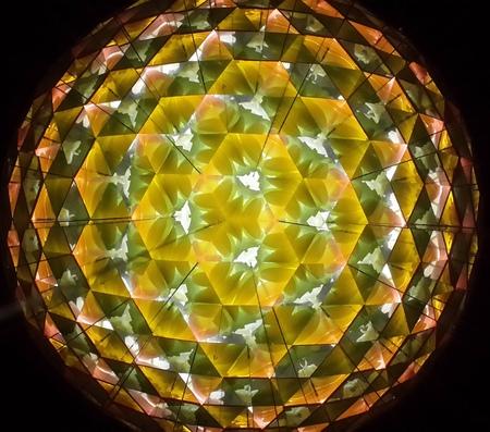 prisma: Reflexión del color del espejo interior Triángulo Prisma
