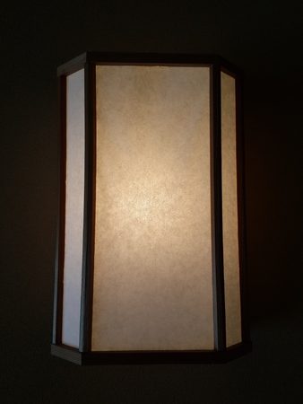 paper lantern: Japanese Paper Lantern Stock Photo