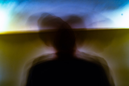 An abstruct photo of psychedelics and what it does Stock Photo