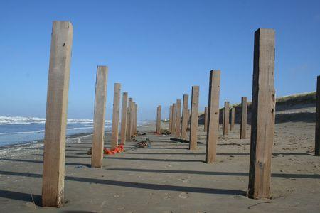 pavillion: winter beach pavillion
