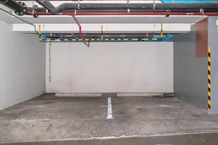 multi story car park: Car parking in an underground garage