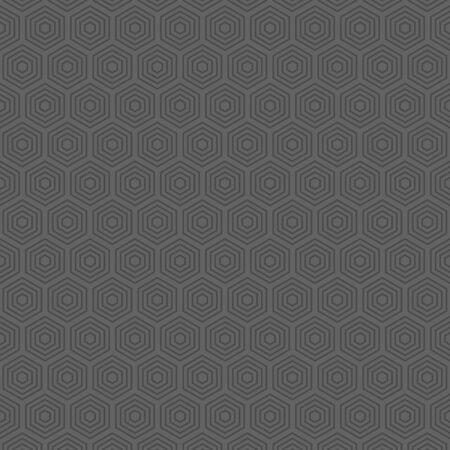 Vector seamless geometric simple pattern. Abstract minimalist hexagonal background.