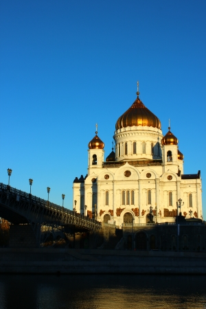 Cathedral of Christ the Savior in Moscow Stock Photo - 16013403