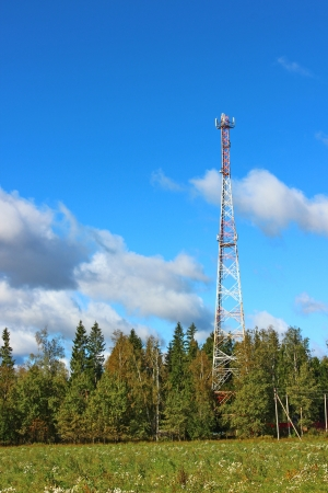 communicative: Repeaters transmitters tower