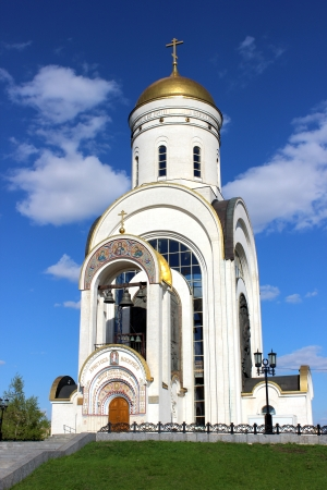 Orthodox church in Moscow Stock Photo - 17152052