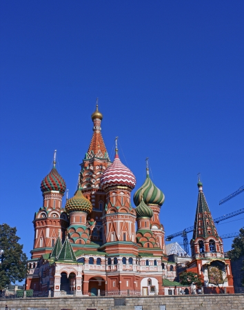 Cathedral of Basil Blessed in Moscow Stock Photo - 17151834