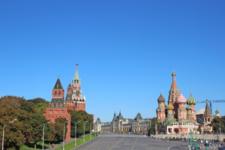 Moscow Kremlin and Red square in Moscow Stock Photo - 17152095