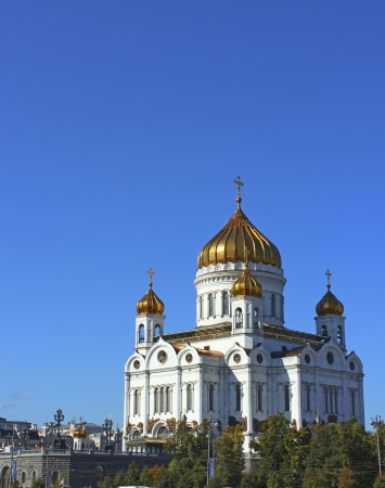 Cathedral of Christ the Savior in Moscow Stock Photo - 17151736