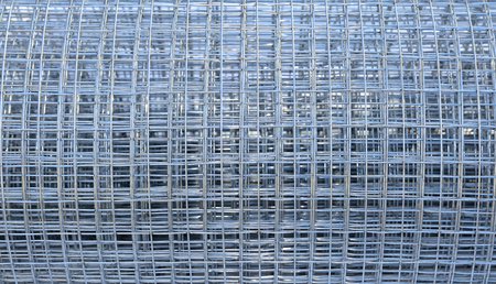 solid wire: Background of galvanized welded meshes