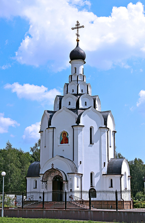 Church of the Icon of the Mother of God Perishing in Minsk. Built in memory of those killed in the liquidation of the accident at Chernobyl NPP